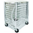 Winco ALRK-10-CV 10 -Tier Aluminum Sheet Pan Rack Cover