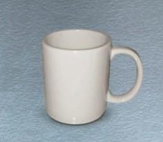 CAC China MUG-50-AW American White 10 oz. Mug