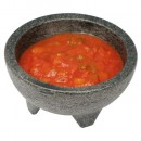 Winco pmsb-10 Molcajete Salsa Bowl Set 10 oz.