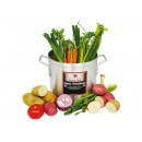 Winco AXS-10 Super Aluminum Stock Pot 10 Qt.