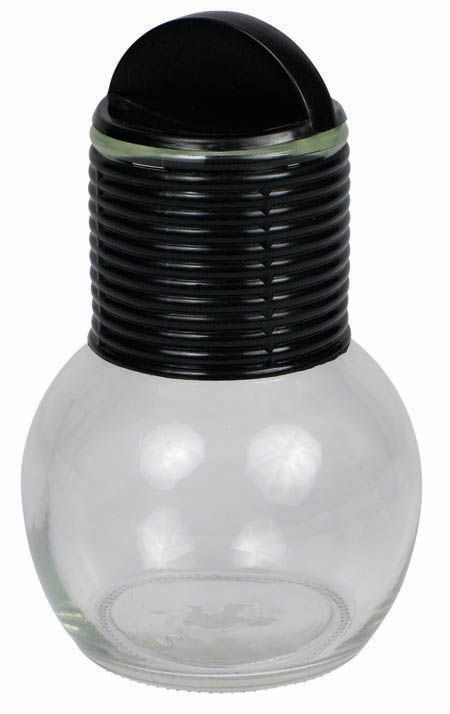 Winco GHT-10 Glass Hottle with Plastic Lid 10 oz.