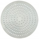 "Winco APZP-11SP 11"" Aluminum Super-Perforated Pizza Disk"