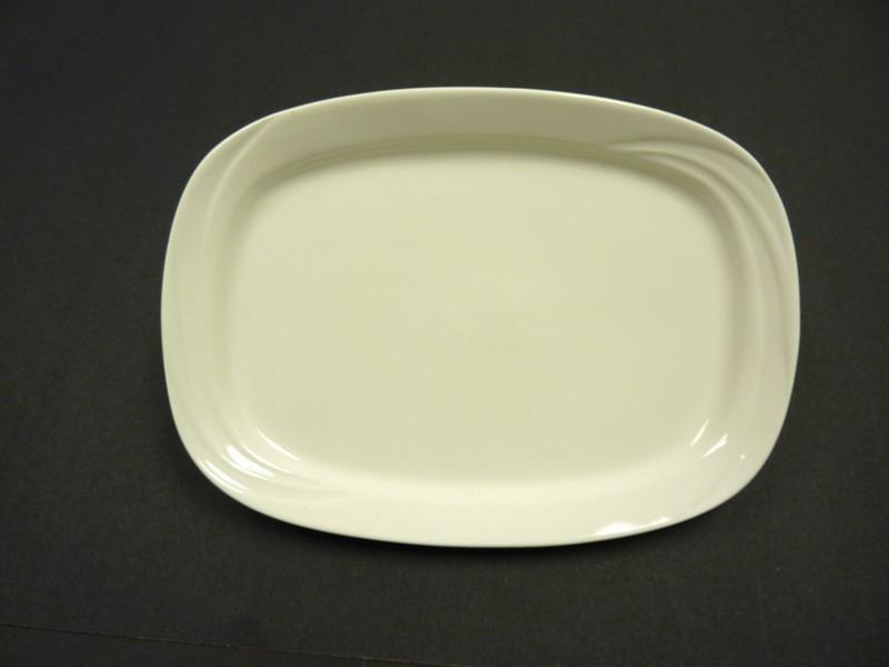 "Yanco MM-93 Miami 11 3/4"" x 8 1/2"" Rectangular Platter"