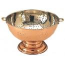 """Old Dutch International 780 Copper Footed Colander/Centerpiece 12"""""""