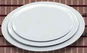 Flat Pizza Plate 12