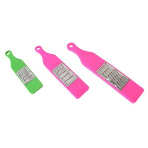 "Thunder Group PLVS002 Medium Vegetable Grater 12-1/4"" x 2-3/4"""