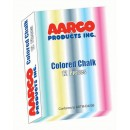 Aarco Products CCS-12 12 Boxes of Colored Chalk