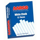 12 Boxes of White Chalk