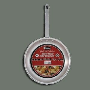 12 Fry Pan 3003 3.5 mm Aluminum alloy natural finish
