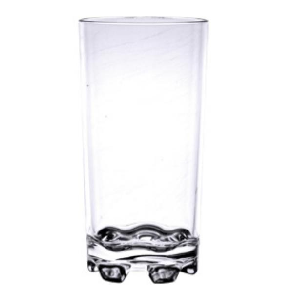 12 Oz Classic Tumbler, Heavy Base, Stackable, Polycarbonate, Clear