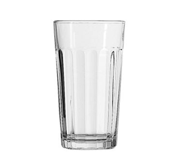 Anchor Hocking 7637U 12 oz. Ribware Beverage Glass