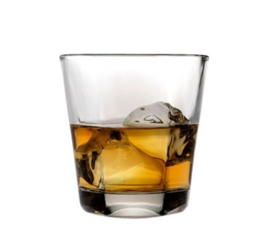 Anchor Hocking 90253 12 oz. Clarisse Stackable Double Old Fashioned Glass