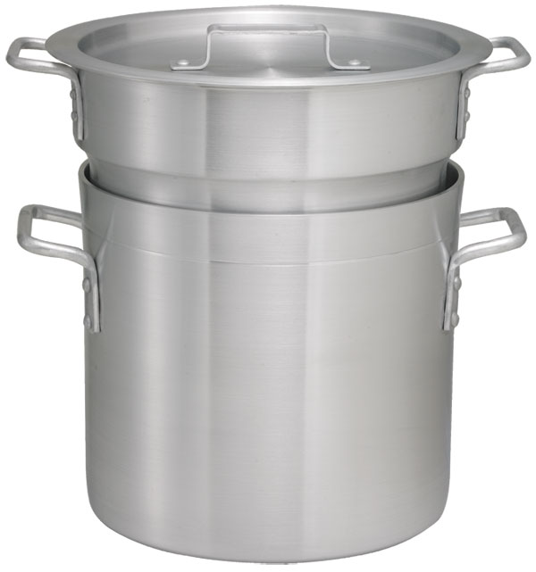 12 Qt Aluminum Double Boiler Set