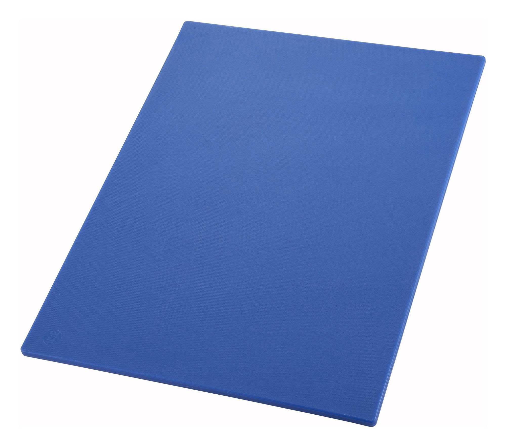 "Winco CBBU-1218 Blue Plastic Cutting Board 12""x 18"" x 1/2"""