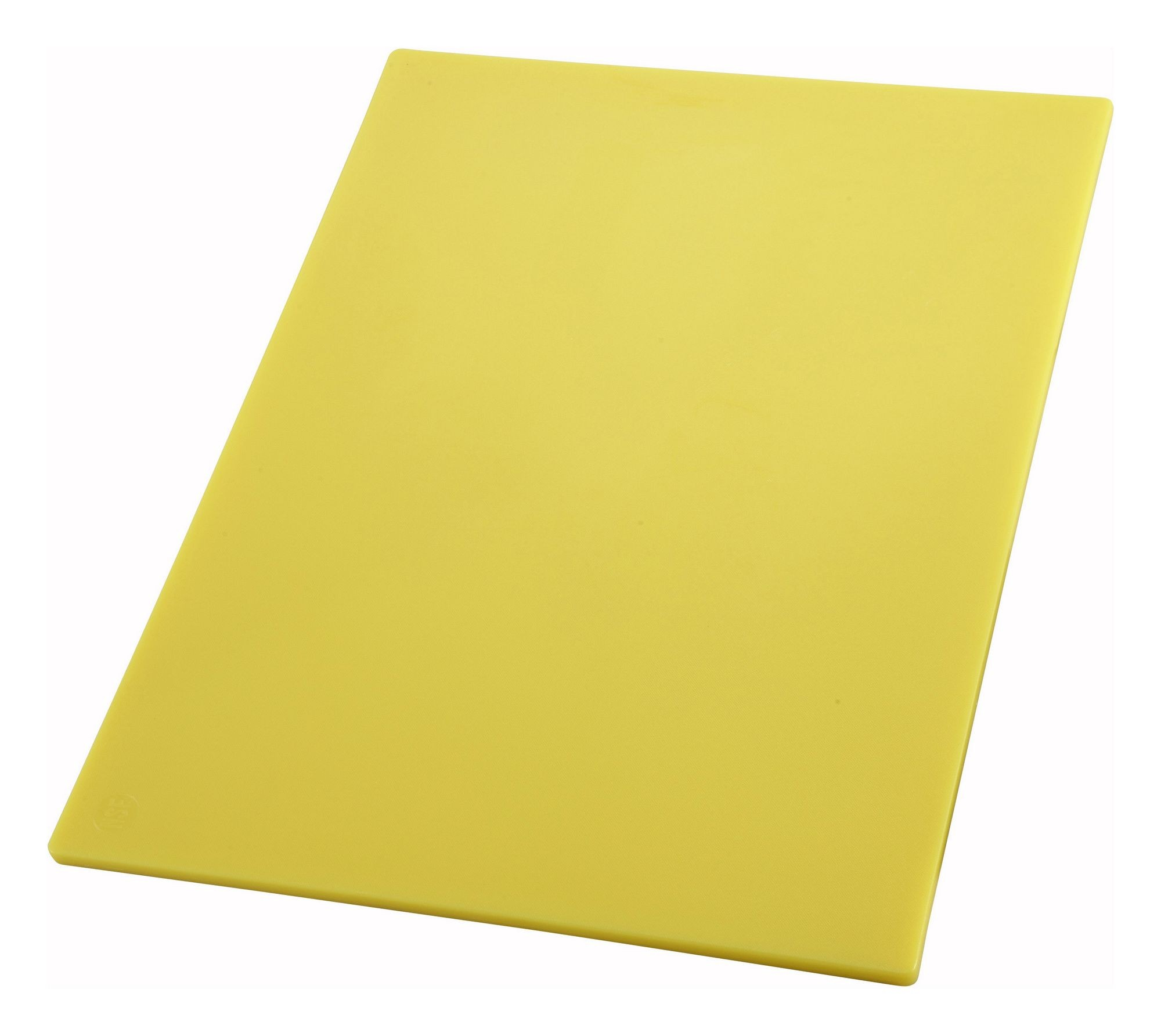 12x18x1/2 Cutting Board Yellow (Raw Poultry & Chicken Board)