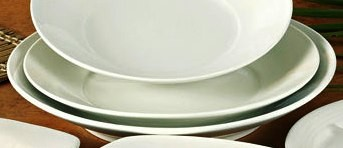 """Yanco RE-213 Recovery 13"""" x 2"""" Salad Plate"""