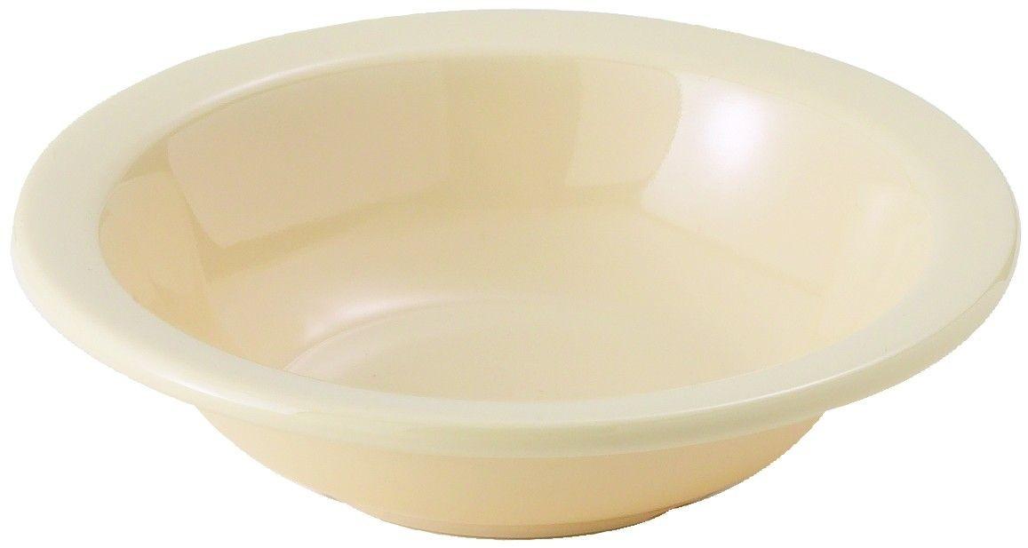 Winco MMB-13 Tan Melamine Grapefruit Bowl, 13 oz.