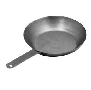 "Johnson-Rose 3836 13"" Steel French Style Frying Pan"