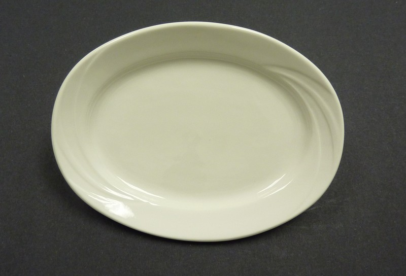 "Yanco MM-14 Miami 14"" Oval Platter"
