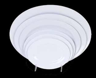 """Thunder Group 2014TW Imperial Oval Melamine Platter, 14"""" x 10"""