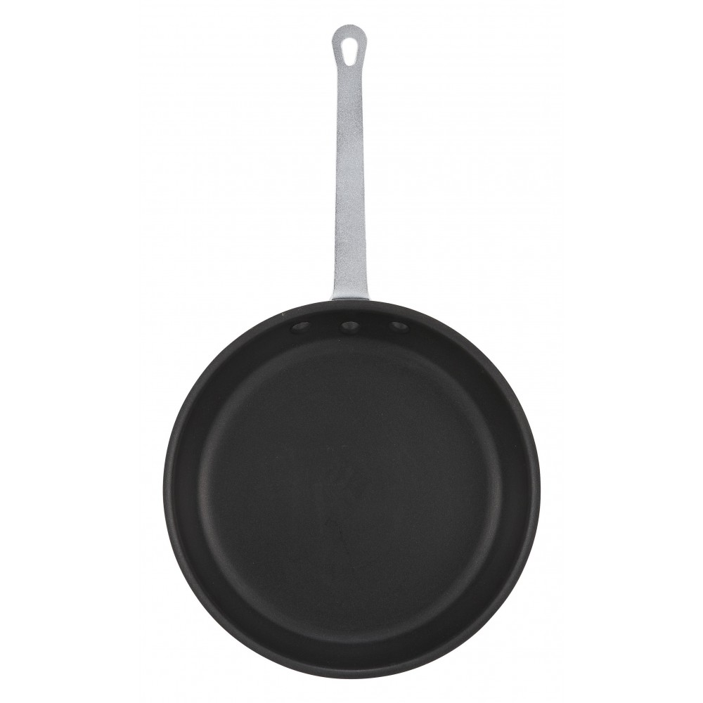 "Winco AFP-14XC 14"" Gladiator Aluminum Fry Pan with Excalibur Coating"