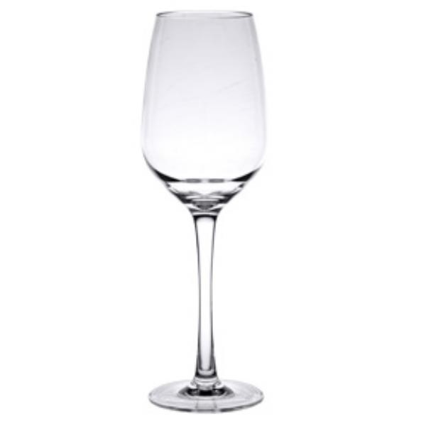 47840b021cb Thunder Group PLTHWG014RC 14 oz. Polycarbonate Red Wine Glass ...