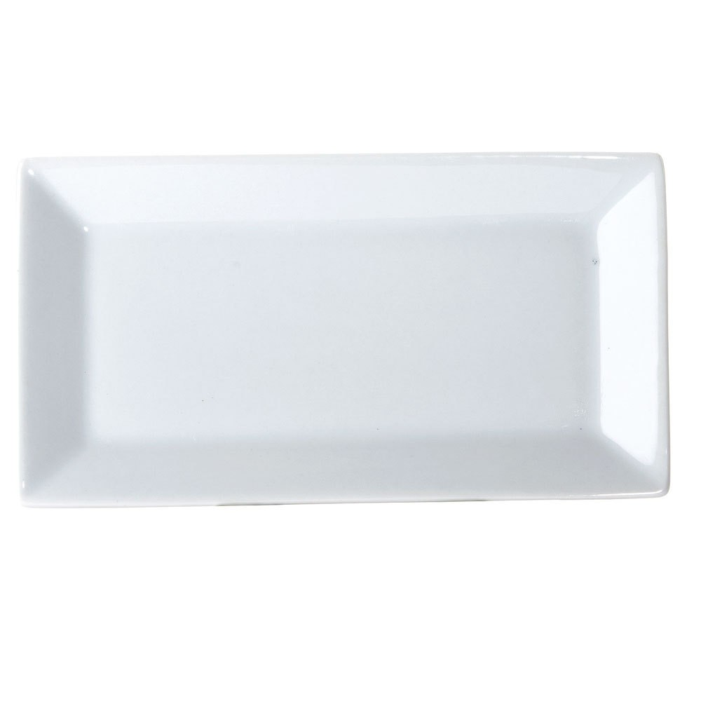 "Yanco ML-214 Mainland 14"" x 9"" Rectangular Plate"