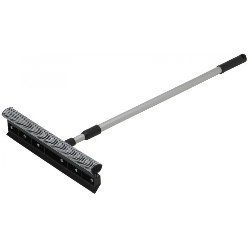 "Winco WS-15 15"" Window Squeegee with Telescopic Handle"