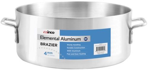 Heavy Weight Super Aluminum 15 Qt. Brazier