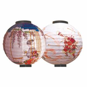 """Thunder Group HL37-2 16"""" Lantern, Samurai"""