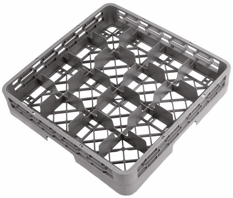 Crestware rbc16 16-Compartment Glass Rack Base
