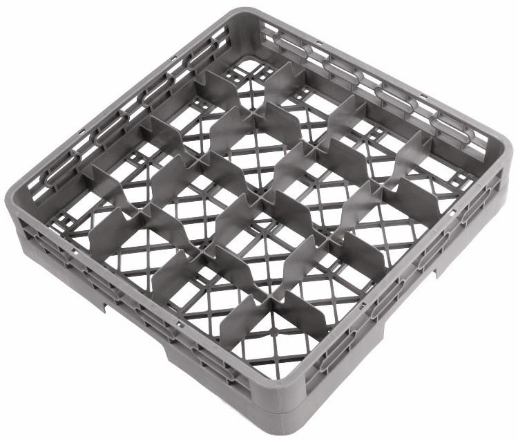 Crestware RBC16 16-Compartment Glass Rack Base