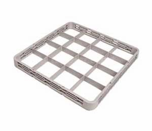 Crestware REC16 16 Compartment Glass Rack Extender for RBC-16