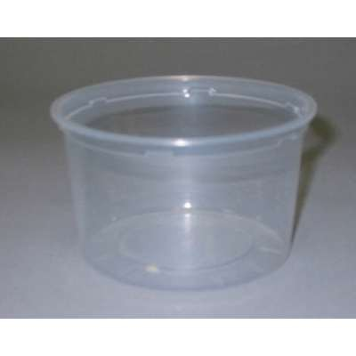 16 Oz Clear Container500/Case Deli