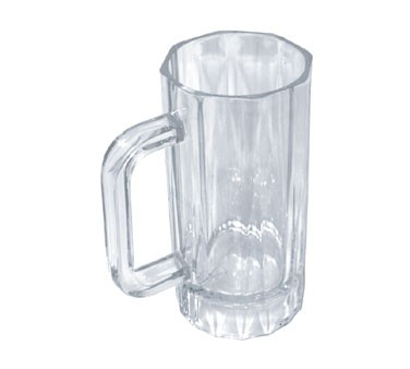 Thunder Group PLPCM001 Clear Plastic Mug 16 oz.