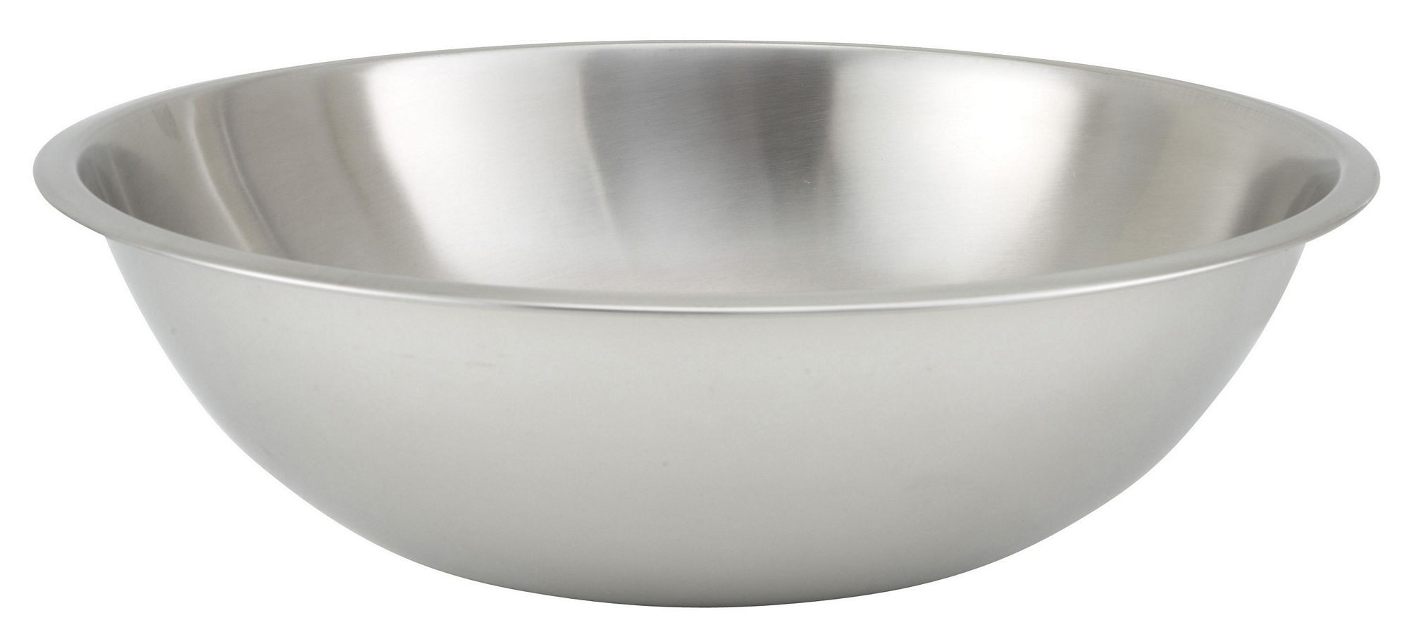 Winco MXHV-1600 Heavy Duty Stainless Steel 16 Qt. Mixing Bowl