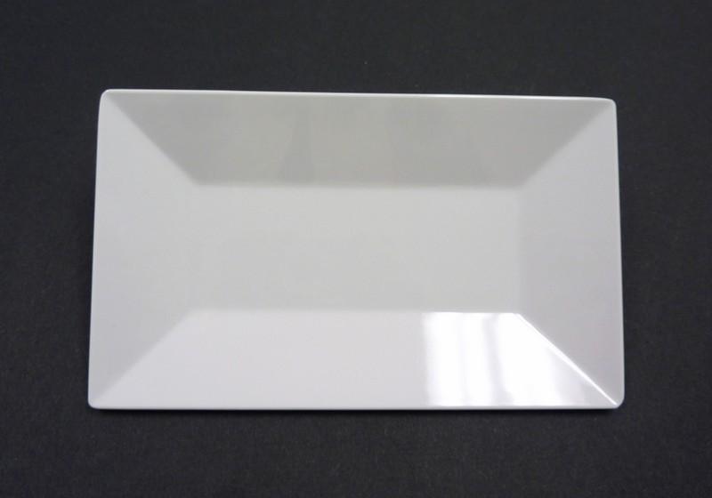 "Yanco RM-216 Rome 16 x 9 1/2"" Rectangular Melamine Plate"