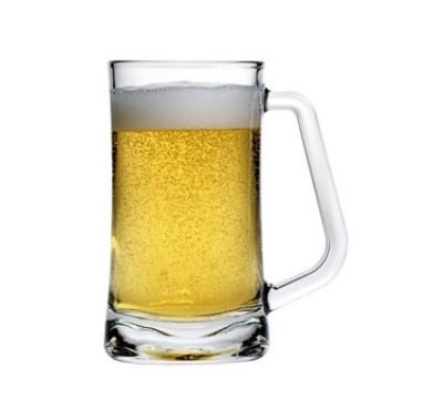 Anchor Hocking 90251 16 oz. Square Beer Mug