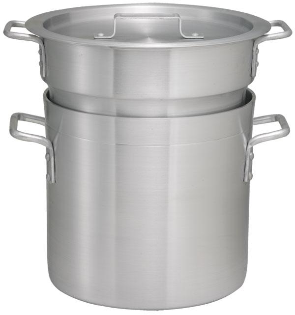 16 Qt Aluminum Double Boiler Set