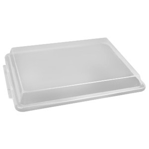 "Thunder Group PLSP1826C 18"" x 26"" Full Size Plastic Sheet Pan Cover  ONLY compatible With Thundergroup half size sheet pans pans"