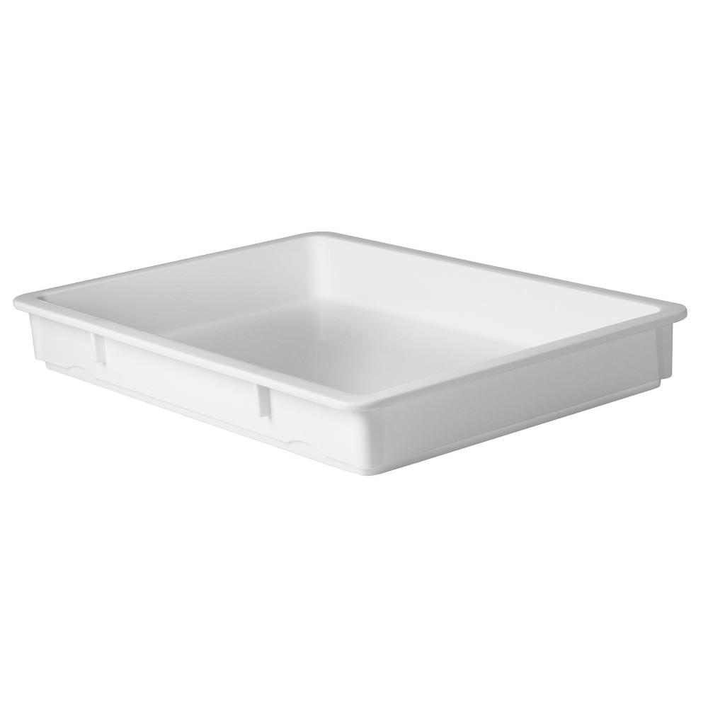"Winco PL-3N Multi-Stacking Pizza Dough Box 18-1/2"" x 26"" x 3"""