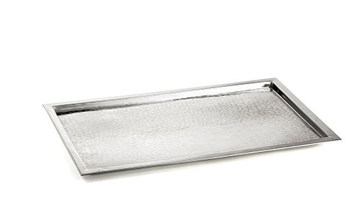 Rectangular Stainless Steel Tray, 23-1/4