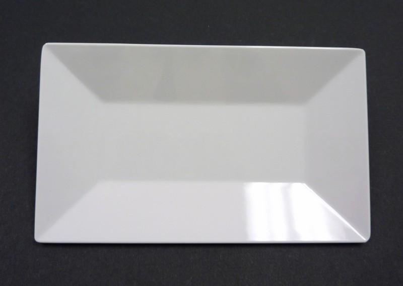 "Yanco RM-218 Rome 18""x 10 1/2"" Rectangular Melamine Plate"