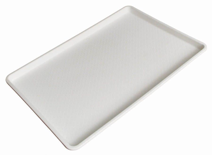 "Winco fft-1826 White Plastic Fast Food Tray, 18"" x 26"""