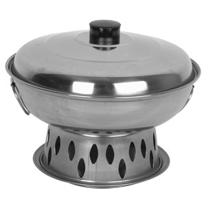 19 Cm Alcohol Wok Set