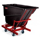 2-1/2 Cu Yd Self Dumpinghopper Black