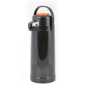 Glass Lined Airpot with Push Button, Decaf 2.2 Liter