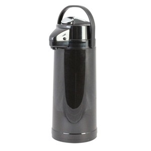 Thunder Group APLG025 Glass Lined Airpot with Lever Pump 2.5 Liter