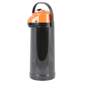 Glass Lined Airpot with Lever Pump, Decaf 2.5 Liter