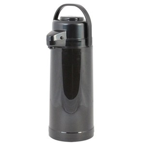 Thunder Group APPG025 Glass Lined Airpot with Push Button 2.5 Liter